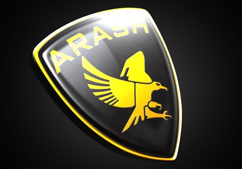 Arash Logo 3D Wallpaper