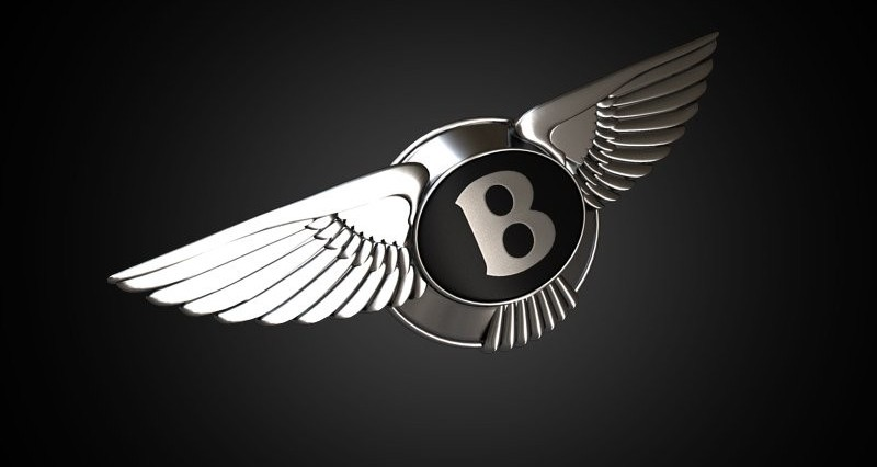 Bentley Logo 3D Wallpaper