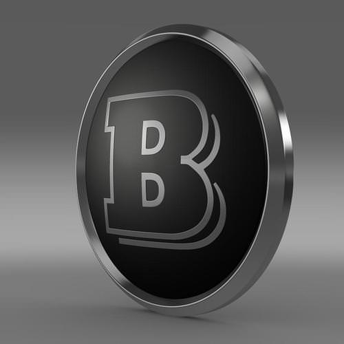 Brabus Logo 3D Wallpaper