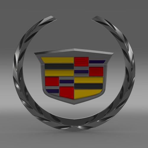 Cadillac Logo 3D Wallpaper