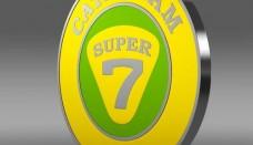 Caterham Logo 3D