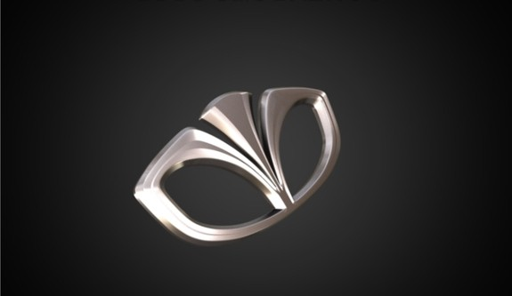 Daewoo Logo 3D Wallpaper