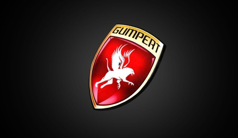 Gumpert Logo 3D Wallpaper