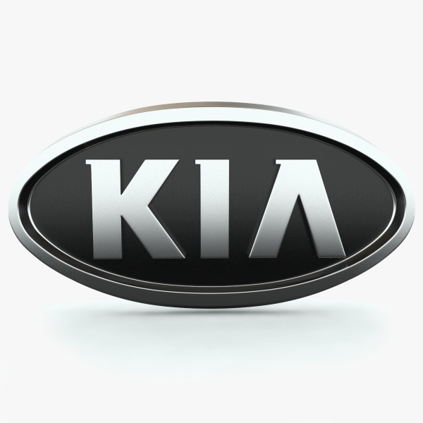 Kia Logo 3D Wallpaper