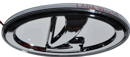 Lada Logo 3D Wallpaper