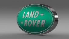 Land Rover Logo 3D