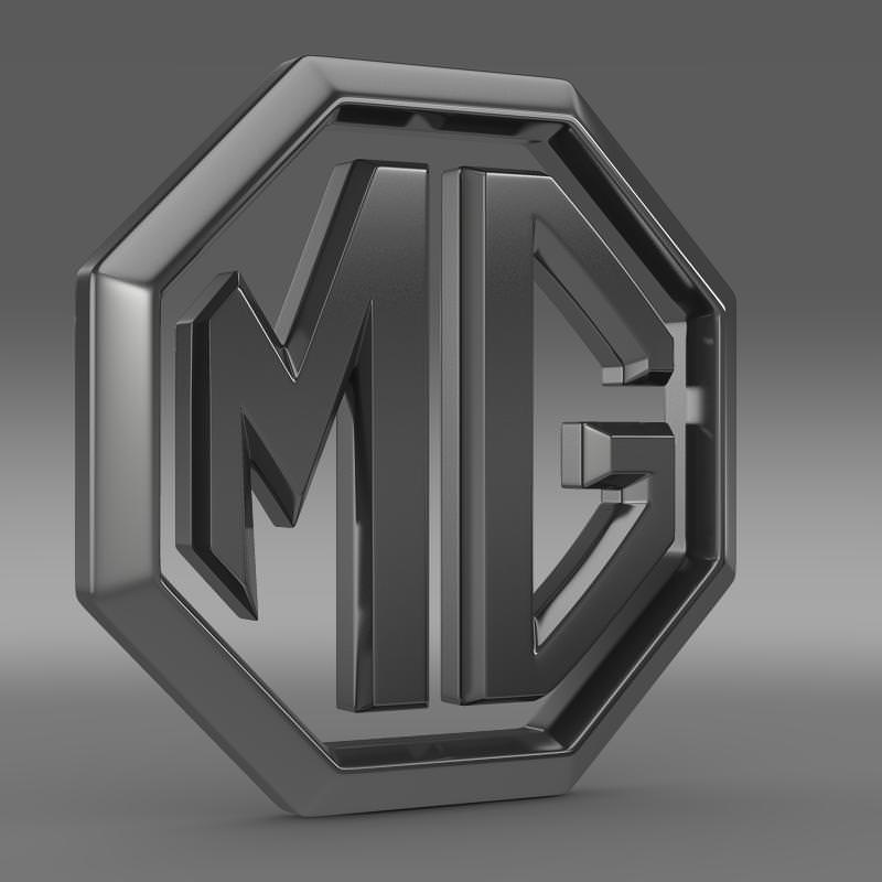 MG Logo 3D Wallpaper