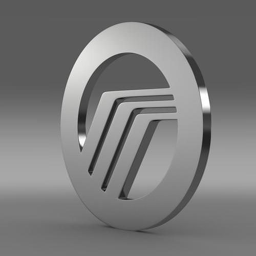 Mercury Logo 3D Wallpaper