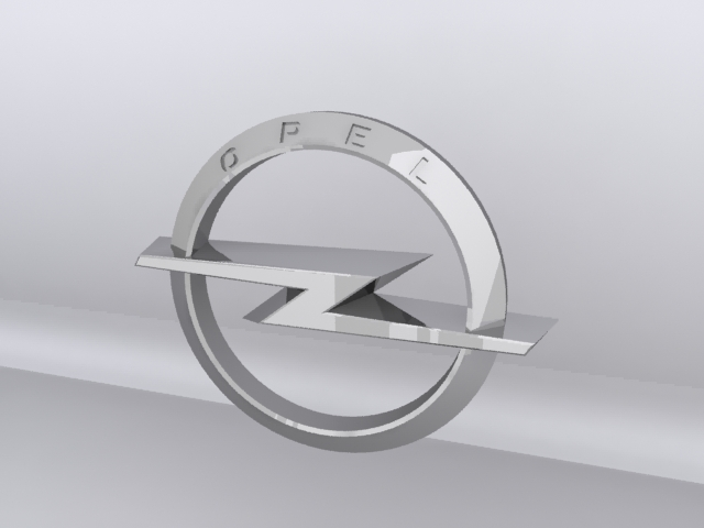 Opel Logo 3D Wallpaper