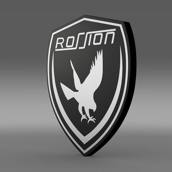Rossion Logo 3D Wallpaper