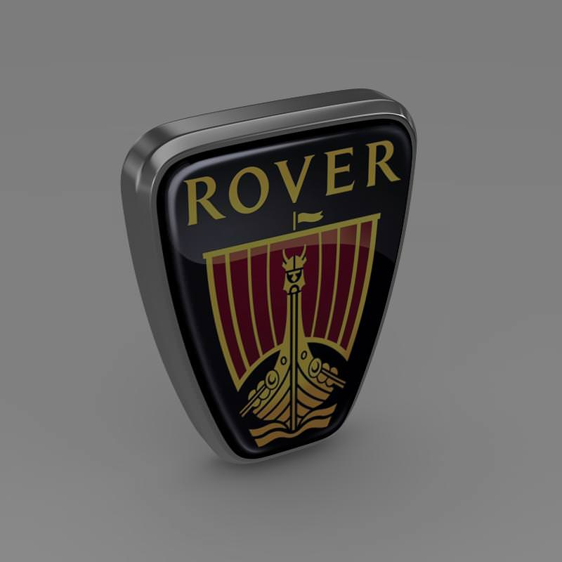 Rover Logo 3D Wallpaper