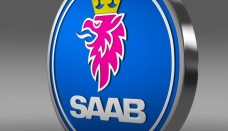 Saab Logo 3D