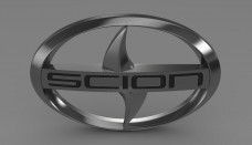 Scion logo 3D