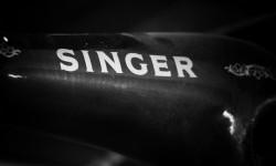 Singer logo 3D