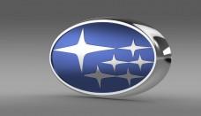 Subaru logo 3D
