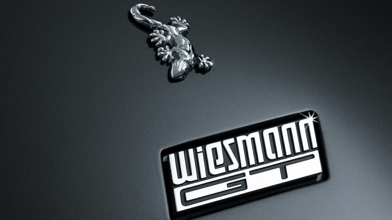 Wiesmann Logo 3D Wallpaper