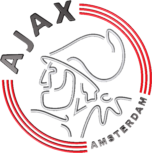 AFC Ajax Logo 3D Wallpaper