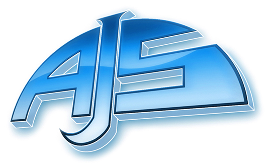 AJS Logo 3D Wallpaper