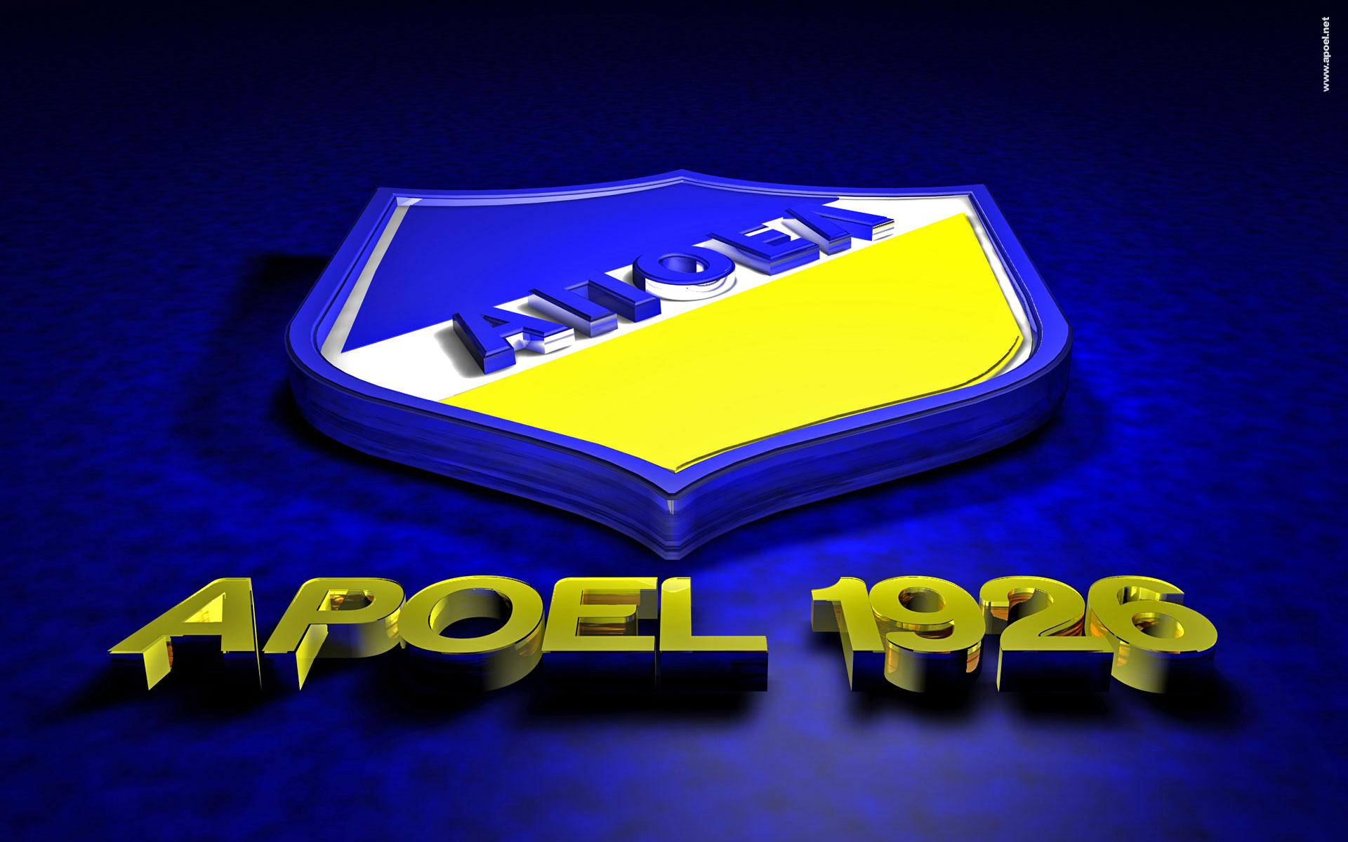 APOEL FC Logo 3D Wallpaper