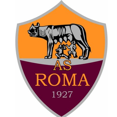 AS Roma Logo 3D Wallpaper