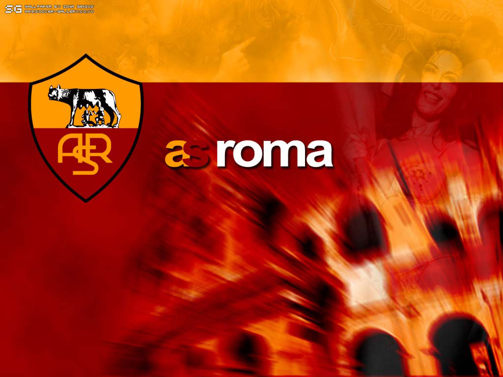 AS Roma Symbol Wallpaper