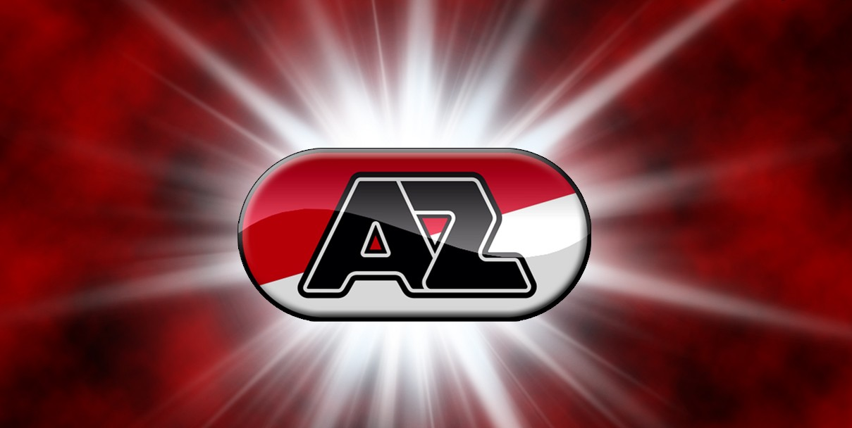 AZ Alkmaar Logo 3D Wallpaper