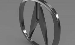 Acura logo 3D