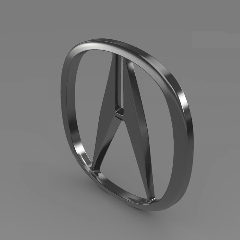 Acura Logo: Acura Logo 3D -Logo Brands For Free HD 3D