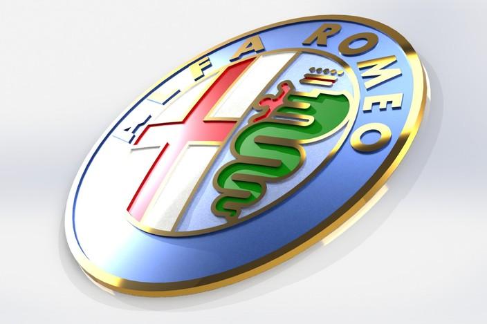 Alfa Romeo graphic design Wallpaper