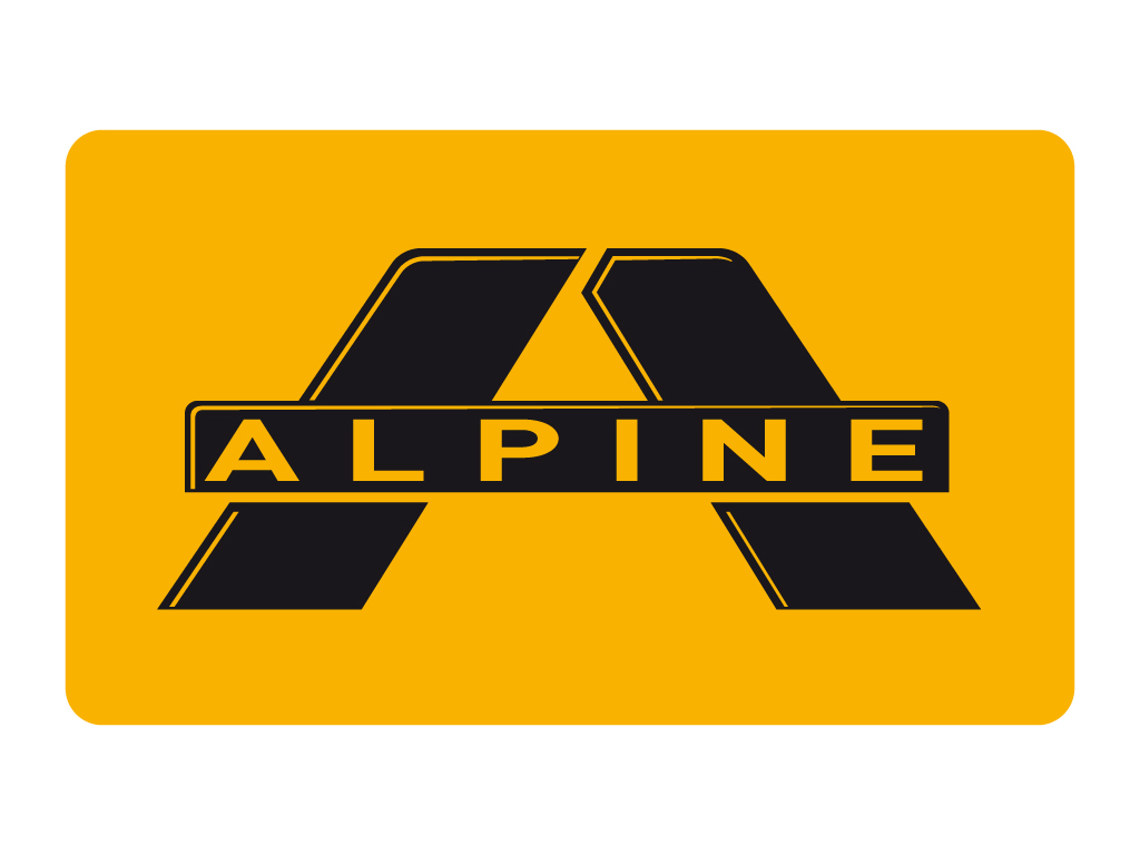 Alpine Symbol Wallpaper