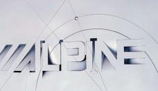 Alpine graphic design