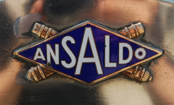 Ansaldo badge Wallpaper