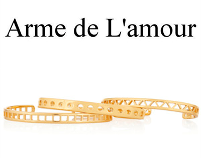 Arme De L'Amour Logo 3D Wallpaper