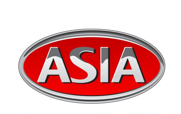 Asia Logo 3D Wallpaper