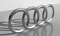 Audi logo 3D