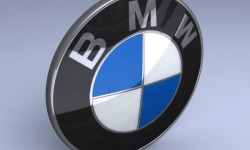 BMW logo 3D