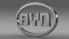 BYD Logo 3D