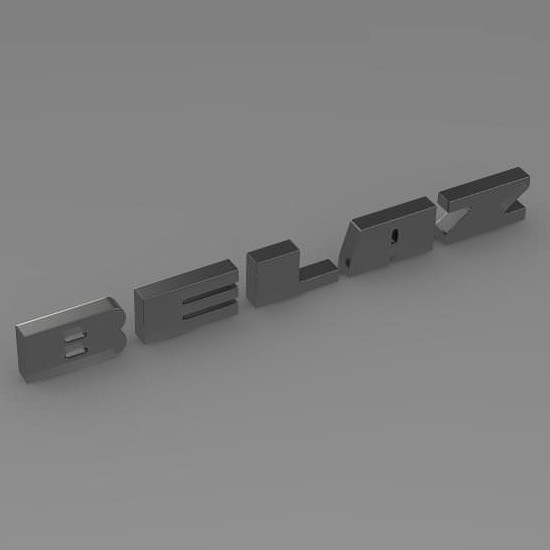 Belaz Logo 3D Wallpaper