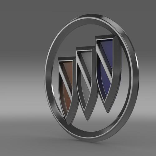 Buick logo 3D Wallpaper
