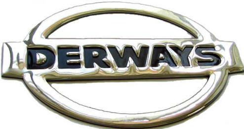 Derways Logo 3D Wallpaper