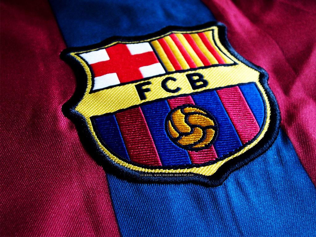 FC Barcelona Logo 3D Wallpaper