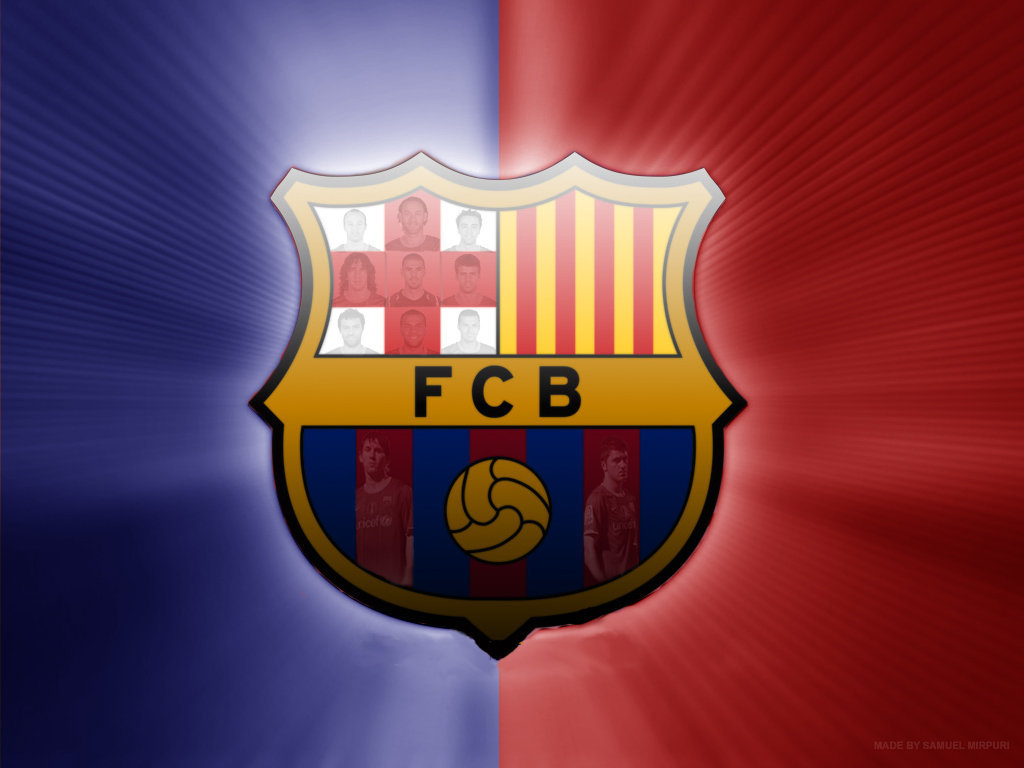 FC Barcelona Symbol Wallpaper