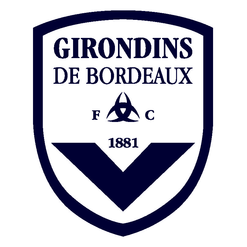 FC Girondins de Bordeaux Logo Wallpaper