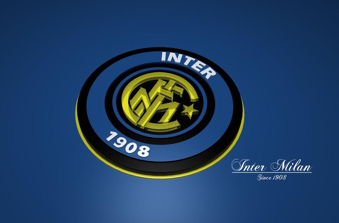 FC Internazionale Milano Logo 3D Wallpaper