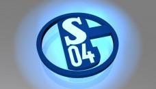 FC Schalke 04 Logo 3D