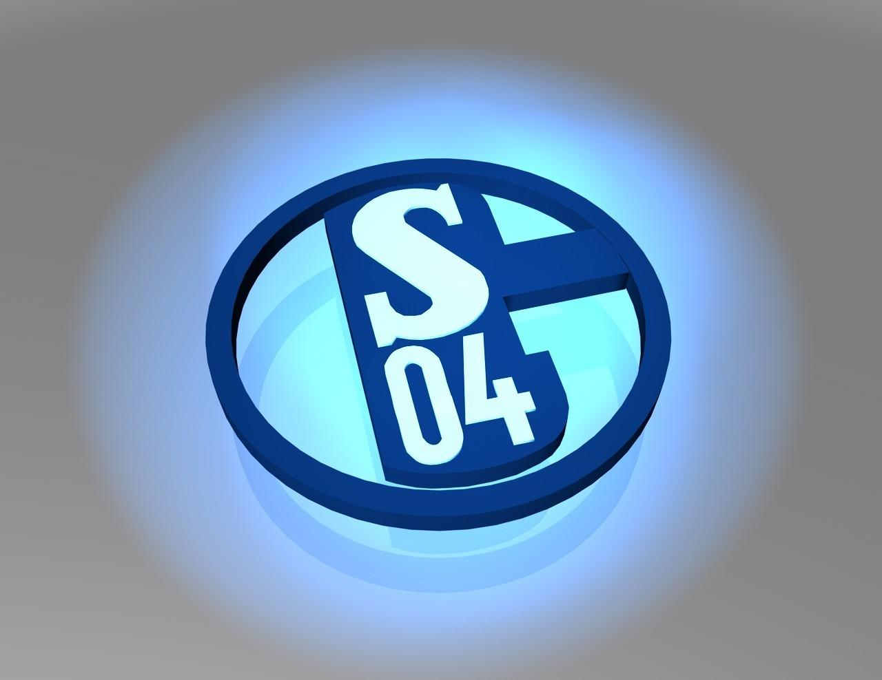 FC Schalke 04 Logo 3D Wallpaper
