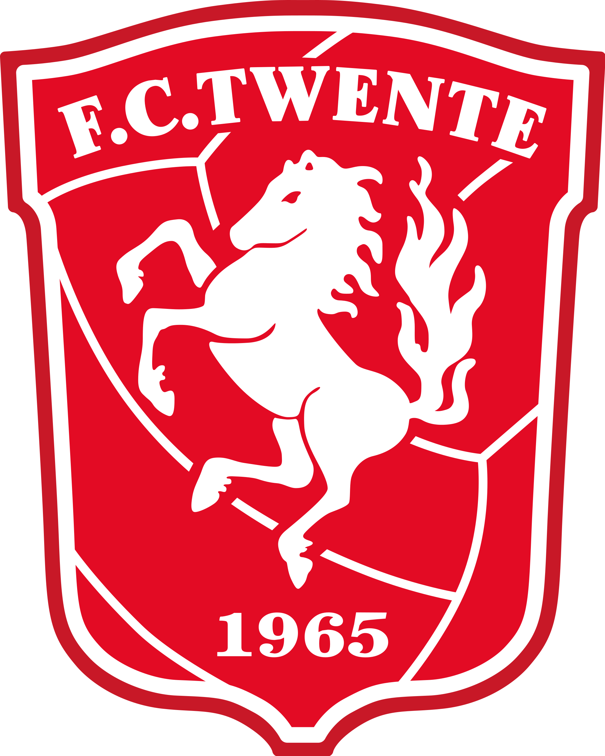 FC Twente Logo Wallpaper