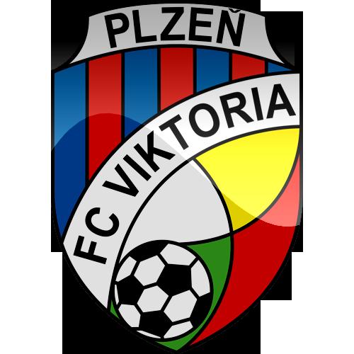 FC Viktoria Plzen Logo 3D Wallpaper