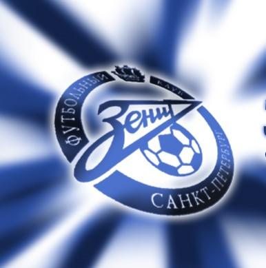 FC Zenit Logo 3D Wallpaper