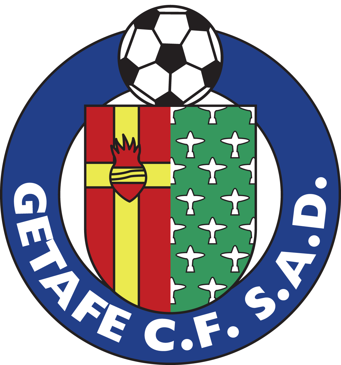 Getafe CF Logo Wallpaper